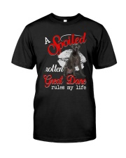 Great Dane Spoiled Classic T-Shirt front