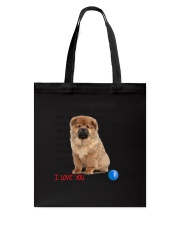 Chow chow - I love you 2006P Tote Bag tile