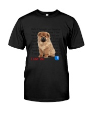 Chow chow - I love you 2006P Classic T-Shirt tile