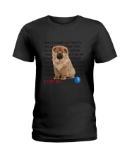 Chow chow - I love you 2006P Ladies T-Shirt thumbnail