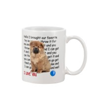Chow chow - I love you 2006P Mug front
