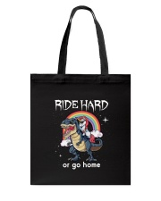 Unicorn Ride Hard Tote Bag thumbnail