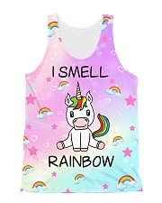 Unicorn smell Rainbow 2806 All-over Unisex Tank front