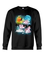 Unicorn Carriage Crewneck Sweatshirt front