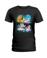 Unicorn Carriage Ladies T-Shirt thumbnail