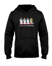 Unicorn Its ok to be a little different 130319 Hooded Sweatshirt thumbnail
