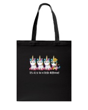 Unicorn Its ok to be a little different 130319 Tote Bag thumbnail