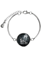Cool Wolf Full Metallic Circle Bracelet thumbnail