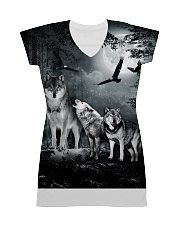 Cool Wolf Full All-over Dress thumbnail