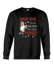 American Staffordshire Terrier High Five Crewneck Sweatshirt thumbnail