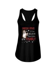 American Staffordshire Terrier High Five Ladies Flowy Tank thumbnail