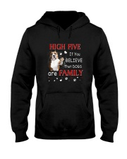 American Staffordshire Terrier High Five Hooded Sweatshirt thumbnail