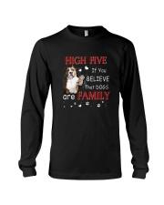 American Staffordshire Terrier High Five Long Sleeve Tee thumbnail