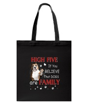 American Staffordshire Terrier High Five Tote Bag thumbnail
