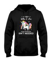 Unicorn I am 1307 Hooded Sweatshirt thumbnail