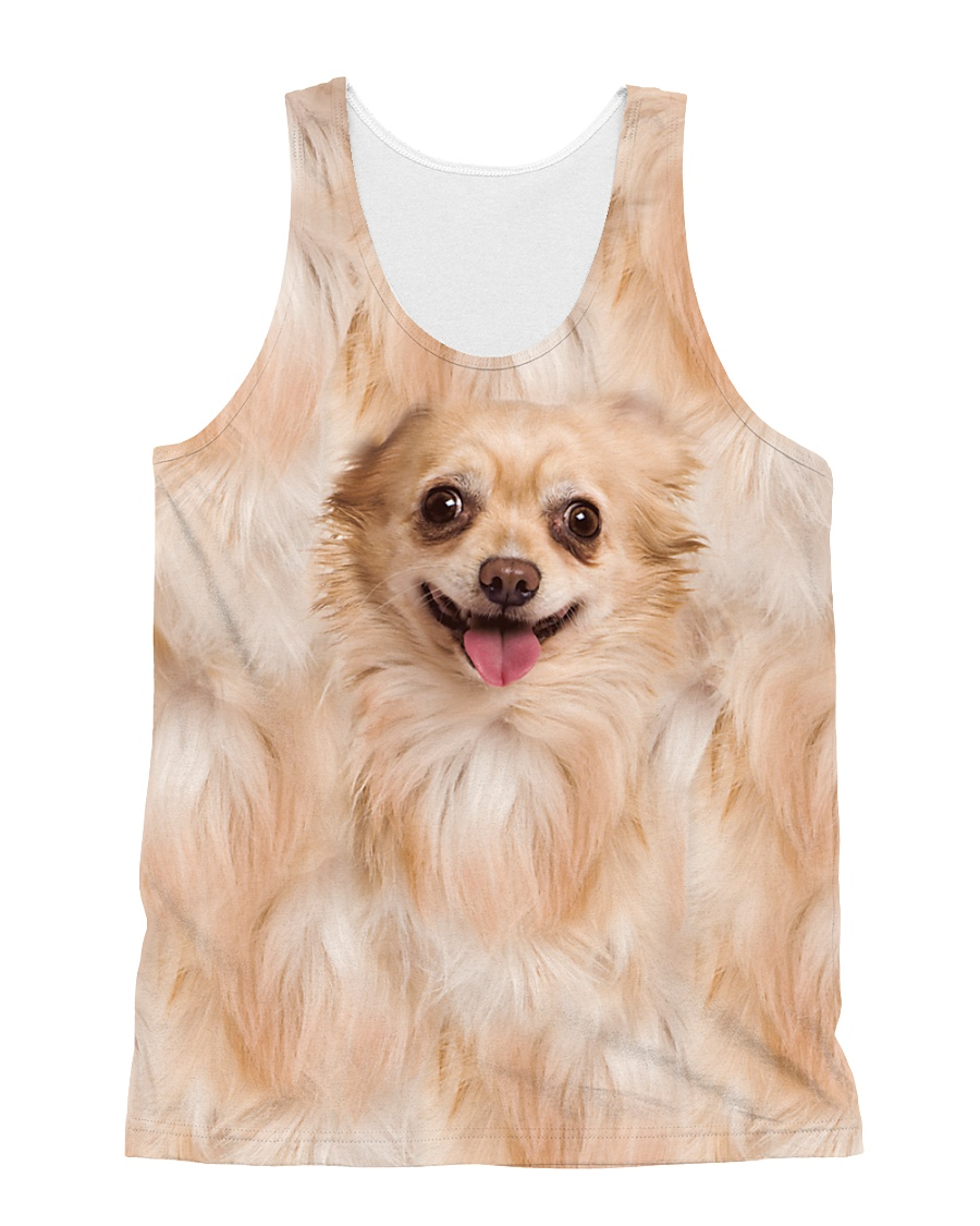 Chihuahua Awesome 1406 All-over Unisex Tank