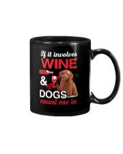 Poodle Wine Mug thumbnail