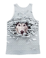 Siberian Husky Broken 1606 All-over Unisex Tank back