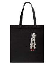 Dalmatian - Leave paw prints on your heart 1906P Tote Bag thumbnail