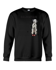 Dalmatian - Leave paw prints on your heart 1906P Crewneck Sweatshirt thumbnail