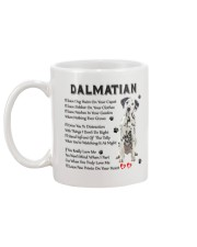 Dalmatian - Leave paw prints on your heart 1906P Mug back