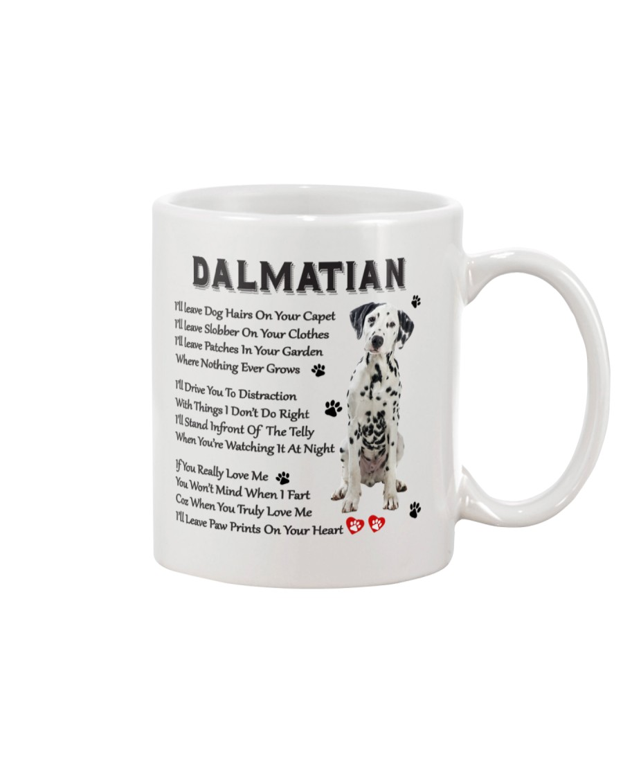 Dalmatian - Leave paw prints on your heart 1906P Mug