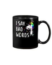 Unicorn Bad Words Mug thumbnail