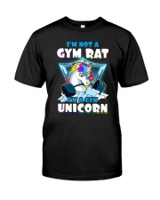 Gym Unicorn Classic T-Shirt front