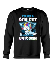 Gym Unicorn Crewneck Sweatshirt thumbnail