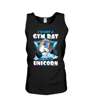 Gym Unicorn Unisex Tank thumbnail