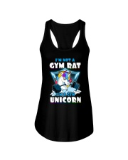 Gym Unicorn Ladies Flowy Tank thumbnail