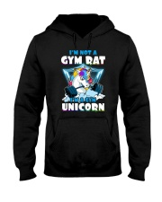 Gym Unicorn Hooded Sweatshirt thumbnail