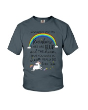 Unicorn Rainbow 1412 Youth T-Shirt thumbnail