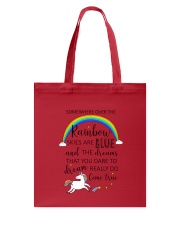 Unicorn Rainbow 1412 Tote Bag thumbnail