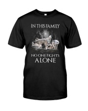 Wolf Family Classic T-Shirt front