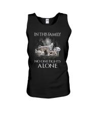 Wolf Family Unisex Tank thumbnail