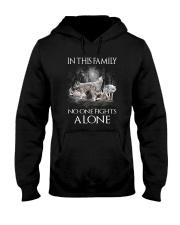 Wolf Family Hooded Sweatshirt thumbnail