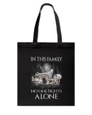 Wolf Family Tote Bag thumbnail