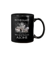 Wolf Family Mug thumbnail
