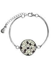 Rottweiler Dollar 1406 Metallic Circle Bracelet thumbnail