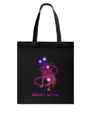 Great Dane Paw Tote Bag tile