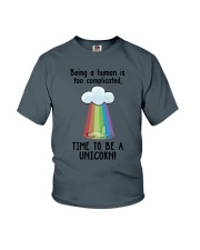 Unicorn Complicated Youth T-Shirt thumbnail