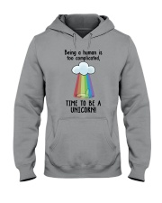 Unicorn Complicated Hooded Sweatshirt thumbnail