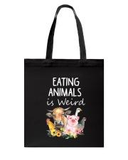 Vegan animal Tote Bag thumbnail