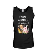 Vegan animal Unisex Tank thumbnail