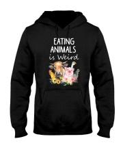 Vegan animal Hooded Sweatshirt thumbnail