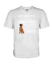 Boxer - Your ignorance 2006P V-Neck T-Shirt thumbnail