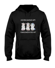 Unicorns make me happy 140319 Hooded Sweatshirt thumbnail