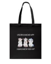 Unicorns make me happy 140319 Tote Bag thumbnail