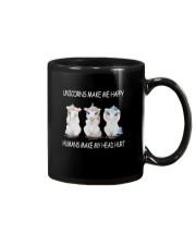 Unicorns make me happy 140319 Mug thumbnail